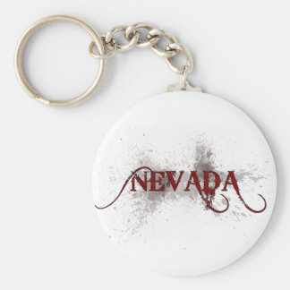 Porte-clés Porte - clé grunge du Nevada de saignement