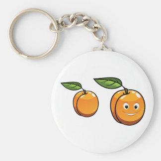 Porte-clés Porte - clé heureux d'abricot