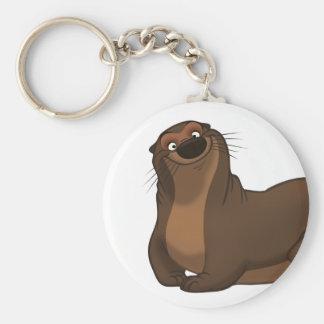 Porte-clés Porte - clé heureux de loutre