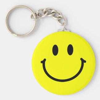 Porte-clés Porte - clé heureux de visage