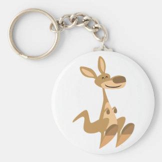 Porte-clés Porte - clé heureux mignon de kangourou de bande