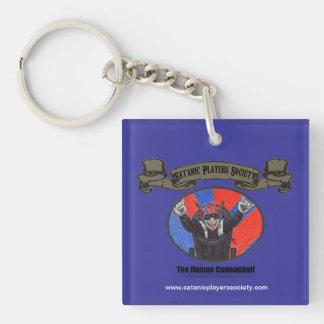 Porte-clés Porte - clé humain de boulet de canon de SPS