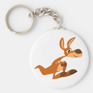 Porte-clés Porte - clé idiot de kangourou de bande dessinée