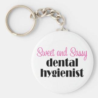Porte-clés Porte - clé impertinent d'hygiéniste dentaire