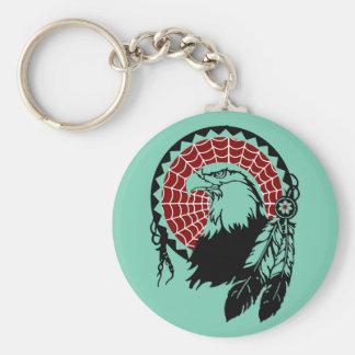 Porte-clés Porte - clé indien d'Eagle Dreamcatcher