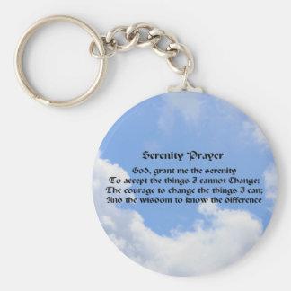Porte-clés Porte - clé inspiré de ciel bleu de prière de