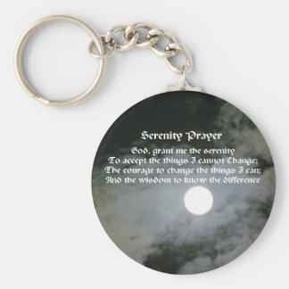 Porte-clés Porte - clé inspiré de pleine lune de prière de
