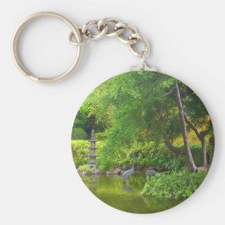 Porte-clés Porte - clé japonais de l'étang #4 de jardin de