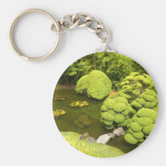 Porte-clés Porte - clé japonais de l'étang #6 de jardin de