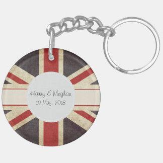 Porte-clés Porte - clé l'épousant royal d'acrylique d'Union