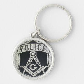 Porte-clés Porte - clé maçonnique de police