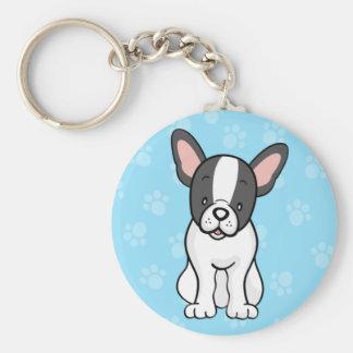 Porte-clés Porte - clé mignon de bouledogue français de chien