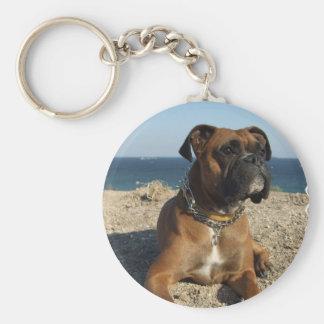Porte-clés Porte - clé mignon de chien de boxeur