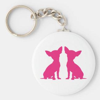 Porte-clés Porte - clé mignon de chien rose de chiwawa, idée