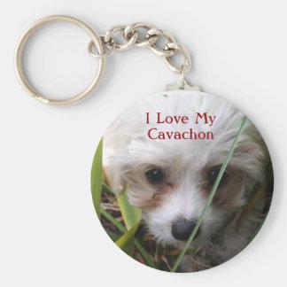Porte-clés Porte - clé mignon de chiot de Cavachon