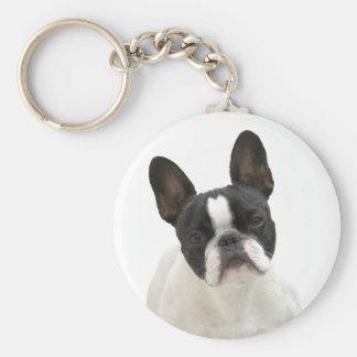 Porte-clés Porte - clé mignon de photo de bouledogue