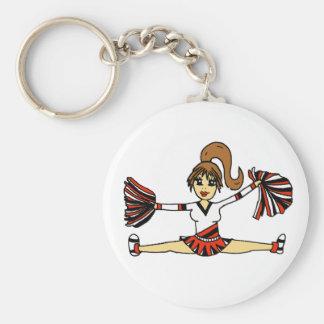 Porte-clés Porte - clé mignon de pom-pom girl