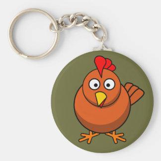 Porte-clés Porte - clé mignon de poulet de Brown