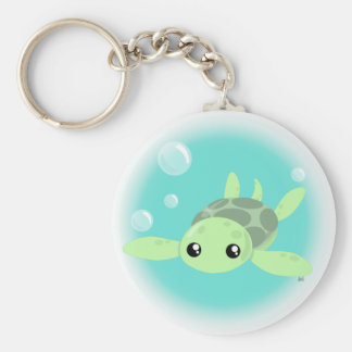 Porte-clés Porte - clé mignon de tortue de mer