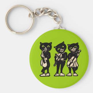 Porte-clés Porte - clé musical de trois chats