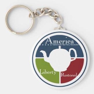Porte-clés Porte - clé national de révolution de thé