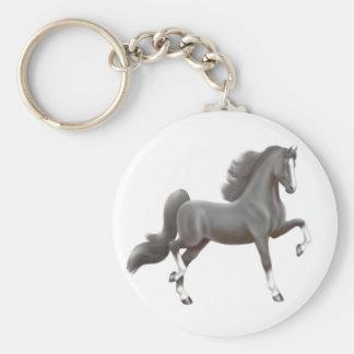 Porte-clés Porte - clé noir de Saddlebred d'Américain