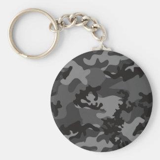 Porte-clés Porte - clé noir fait sur commande de Camo