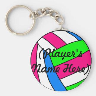 Porte-clés Porte - clé nommé fait sur commande de volleyball