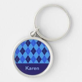 Porte-clés Porte - clé nommé personnalisé par K initial de
