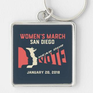 Porte-clés Porte - clé officiel de mars San Diego mars des