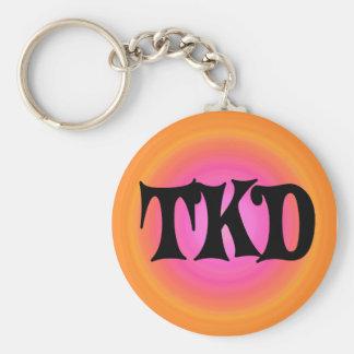 Porte-clés Porte - clé orange et rose de TKD