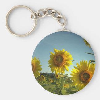 Porte-clés Porte - clé organique de tournesol de jardin