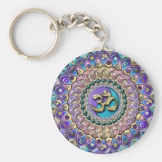 Porte-clés Porte - clé orné de bijoux de mandala