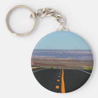 Porte-clés Porte - clé ouvert de route de canyon grand