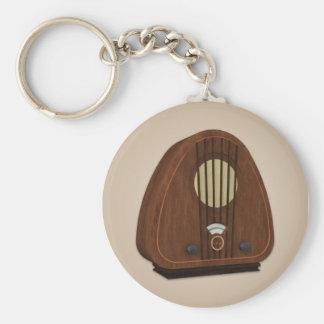 Porte-clés Porte - clé par radio antique vintage