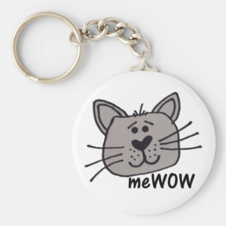 Porte-clés Porte - clé personnalisable de MeWOW du chat