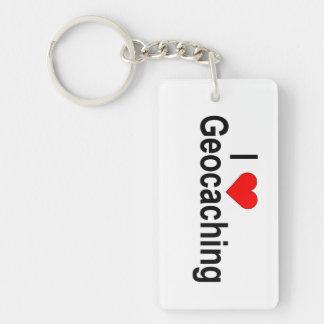 Porte-clés Porte - clé personnalisable : Scène de Geocaching