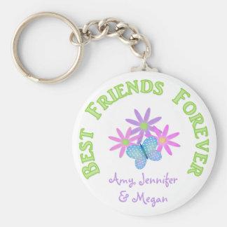 Porte-clés Porte - clé personnalisé de meilleur ami pour
