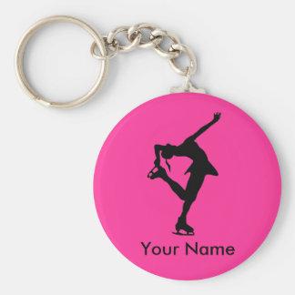 Porte-clés Porte - clé personnalisé de patineur artistique -
