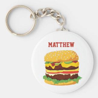 Porte-clés Porte - clé personnalisé double par cheeseburger
