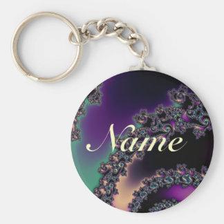Porte-clés Porte - clé personnalisé par fractale foncée