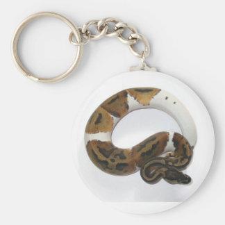 Porte-clés porte - clé pie de python de boule