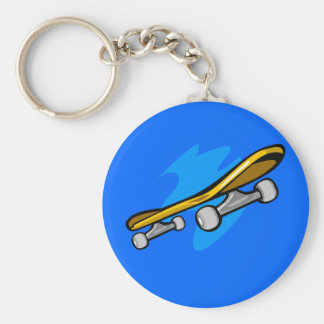 Porte-clés Porte - clé - planche à roulettes