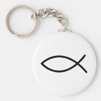 Porte-clés Porte - clé - poisson chrétien