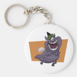 Porte-clés Porte - clé pourpre de monstre