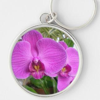 Porte-clés Porte - clé pourpre d'orchidée