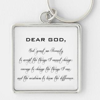 Porte-clés Porte - clé - prière de sérénité