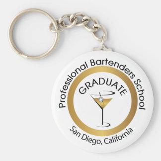 Porte-clés Porte - clé professionnel d'école de barman