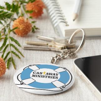 Porte-clés Porte - clé rejeté de bouton de ministères