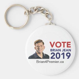Porte-clés Porte - clé rond de Brian Jean de vote